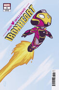 Ironheart Vol 1 1 Young Variant