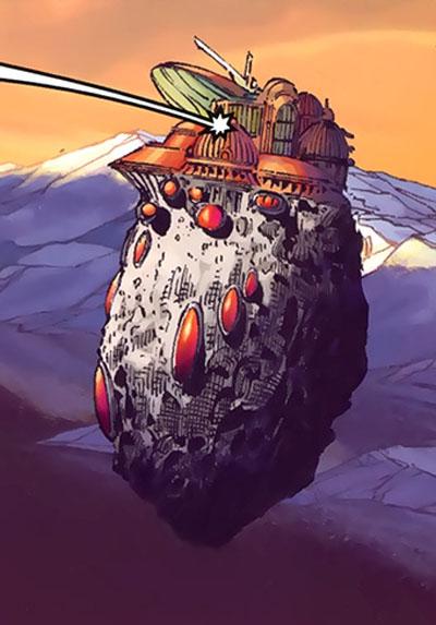 Magneto's Citadel/Gallery