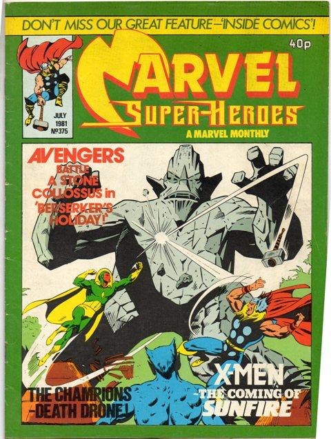Marvel Super-Heroes (UK) Vol 1 375