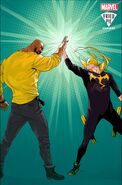 Power Man and Iron Fist Vol 3 1 Fried Pie Variant Textless