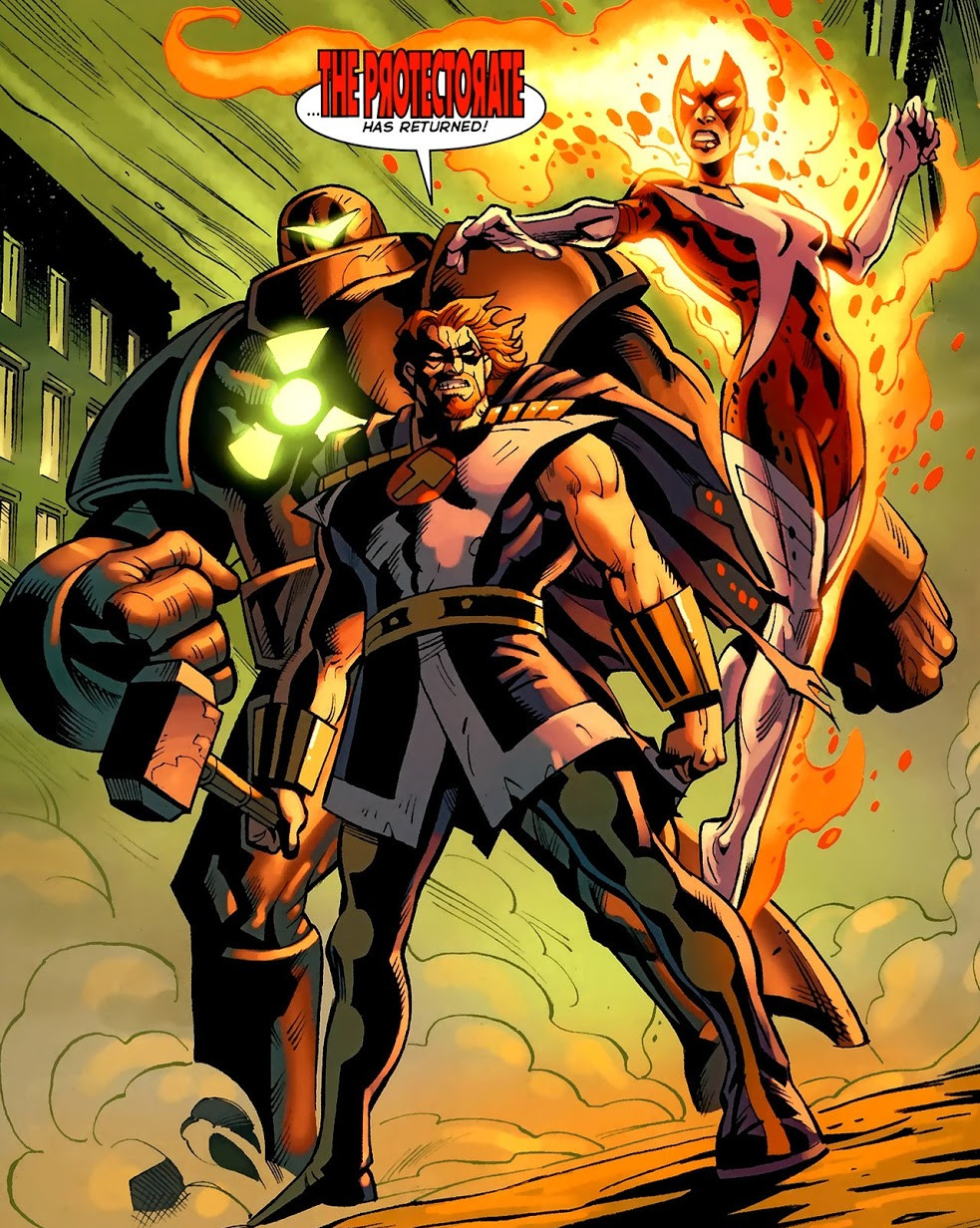 Protectorate (Earth-616)/Gallery