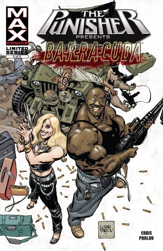Punisher Presents Barracuda MAX Vol 1 3
