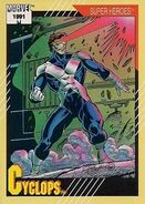 Scott Summers (Earth-616) from Marvel Universe Cards Series II 0001