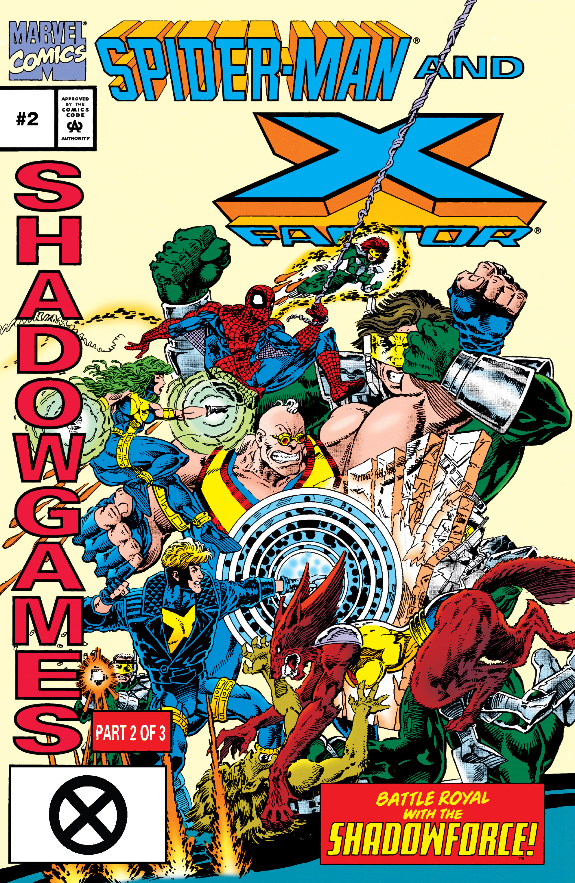 Spider-Man and X-Factor: Shadowgames Vol 1 2