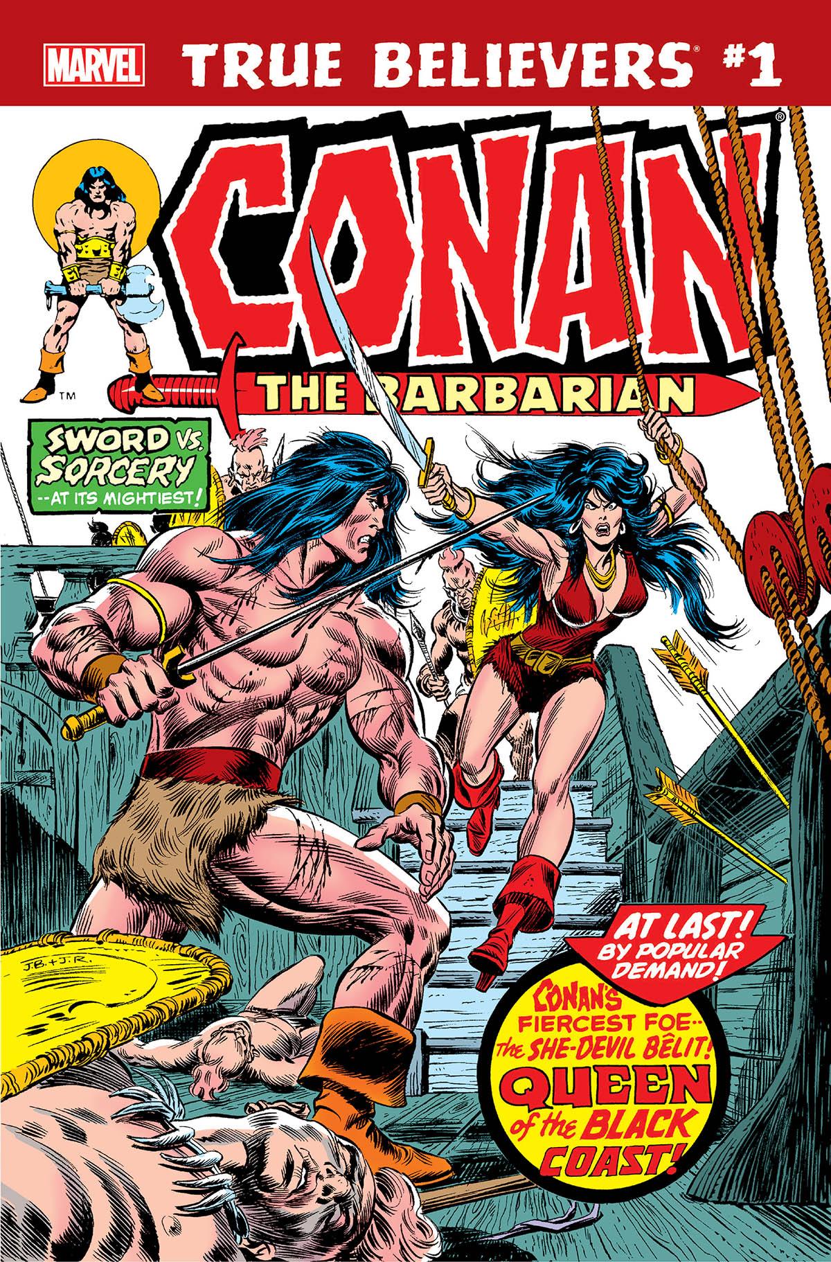 True Believers: Conan - Queen of the Black Coast! Vol 1 1