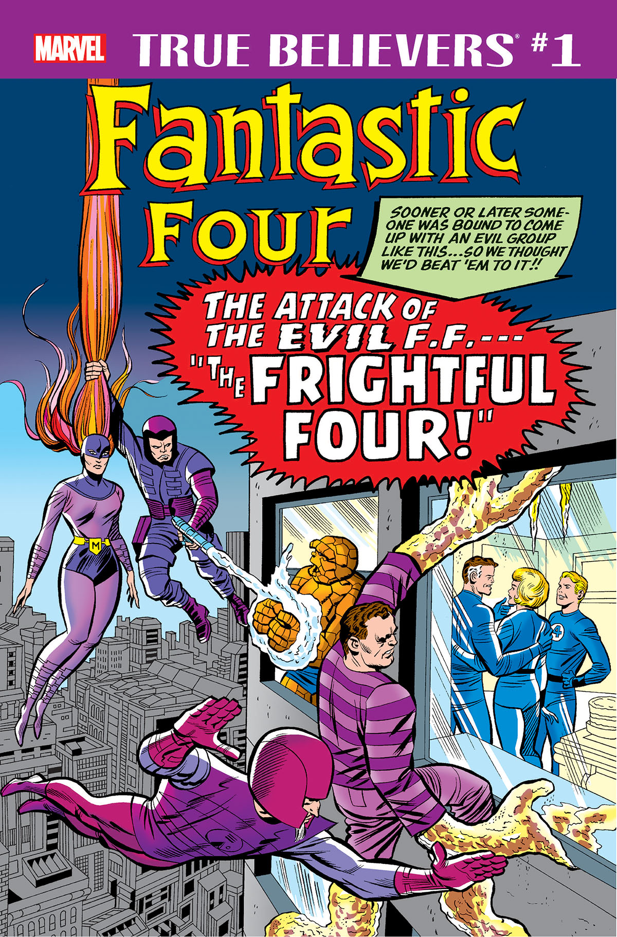 True Believers: Fantastic Four - Frightful Four Vol 1 1
