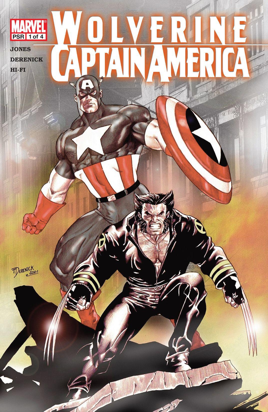 Wolverine/Captain America Vol 1 1