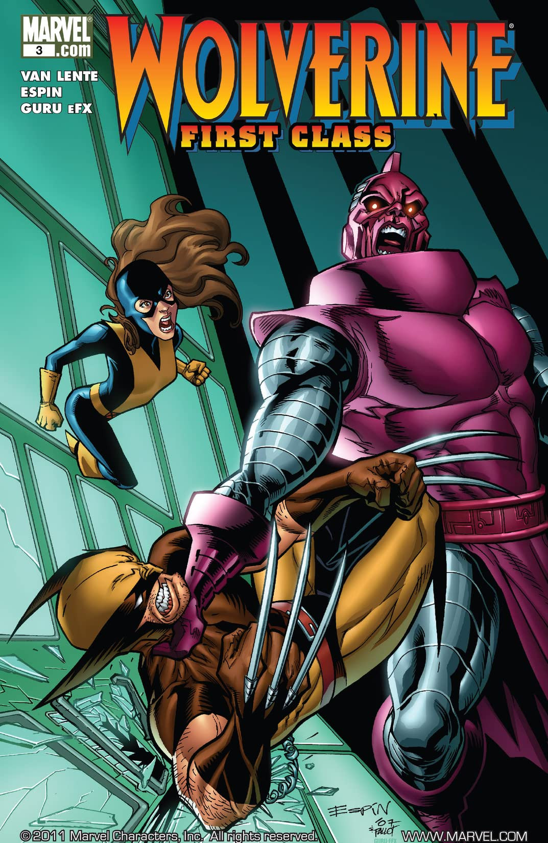 Wolverine: First Class Vol 1 3