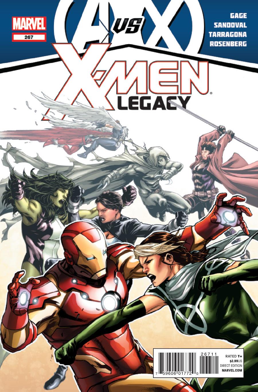 X-Men: Legacy Vol 1 267