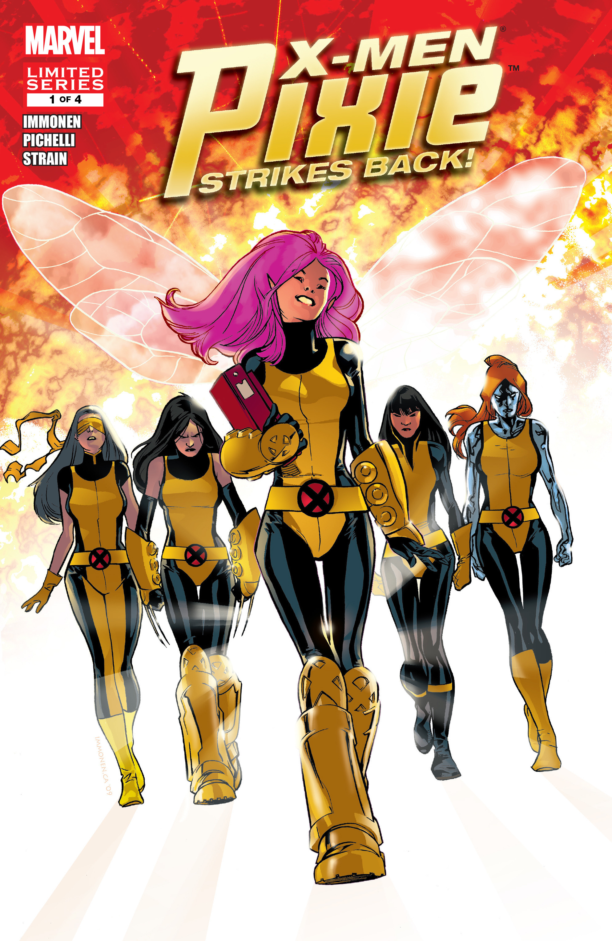 X-Men: Pixie Strikes Back Vol 1 1