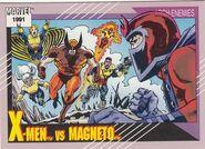 X-Men vs. Max Eisenhardt (Earth-616) from Marvel Universe Cards Series II 0001