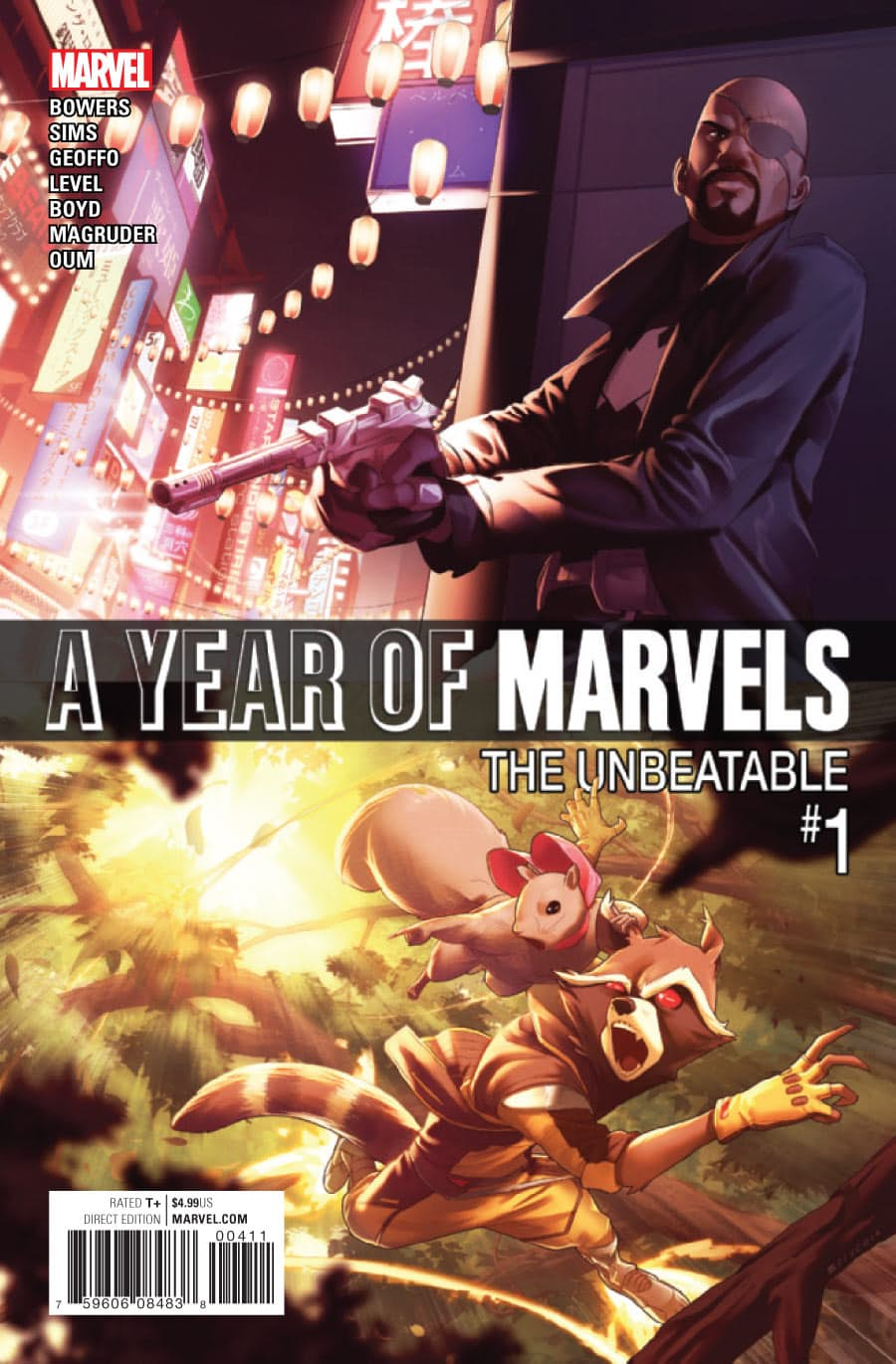 Year of Marvels: The Unbeatable Vol 1 1
