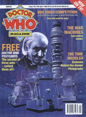 Doctor Who Magazine Vol 1 185.jpg
