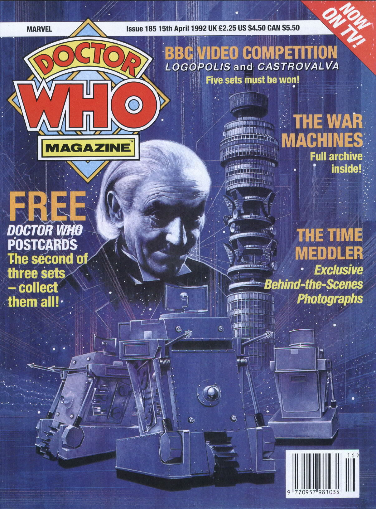 Doctor Who Magazine Vol 1 185