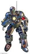 Iron Man Armor Model 1 from Marvel Fact Files Vol 1 48