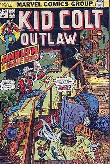 Kid Colt Outlaw Vol 1 186