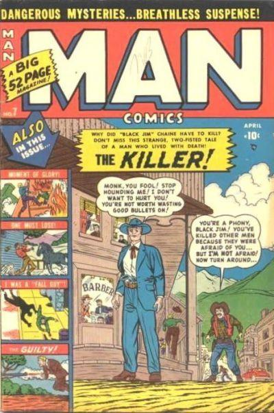 Man Comics Vol 1 7