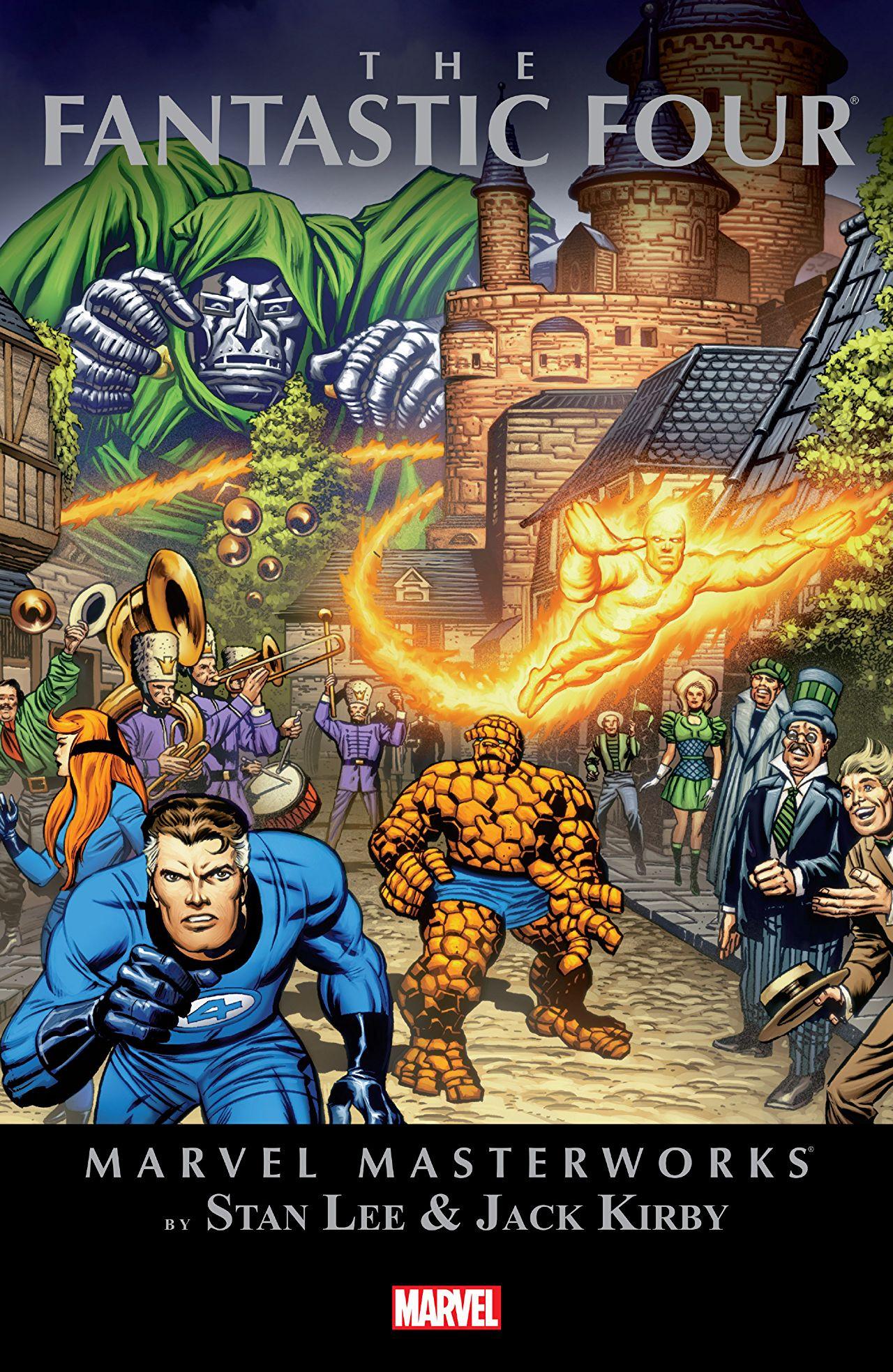 Marvel Masterworks: Fantastic Four Vol 1 9