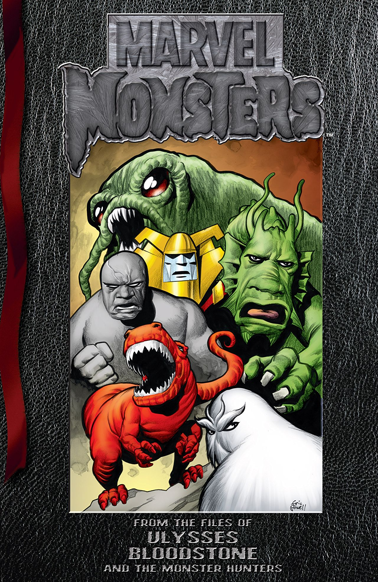 Marvel Monsters: From the Files of Ulysses Bloodstone (and the Monster Hunters) Vol 1 1