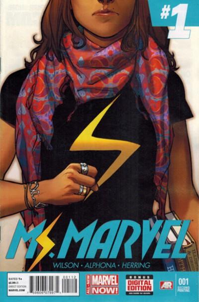 Ms. Marvel Vol 3 1 2nd Printing Variant.jpg