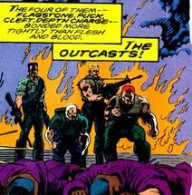 Outcasts (Mercenaries) (Earth-616)/Gallery