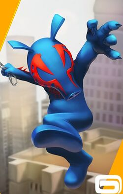 Piguel O'Malley (Earth-TRN461) from Spider-Man Unlimited (video game) 002.jpg