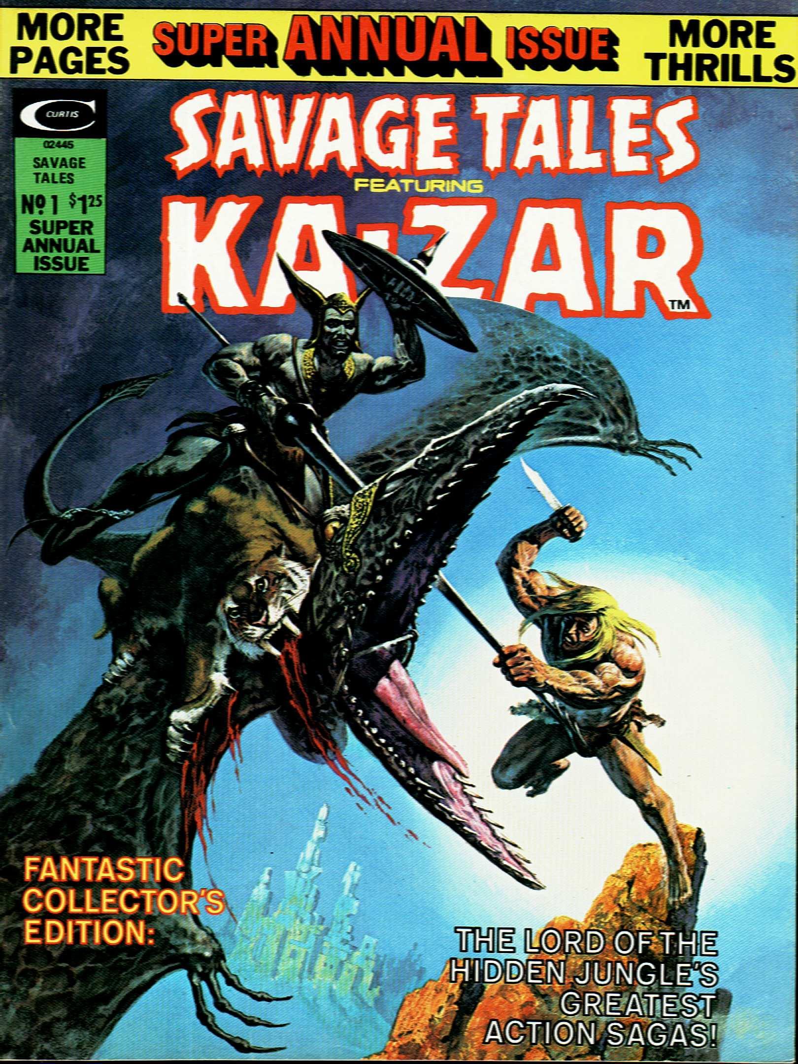Savage Tales Annual Vol 1
