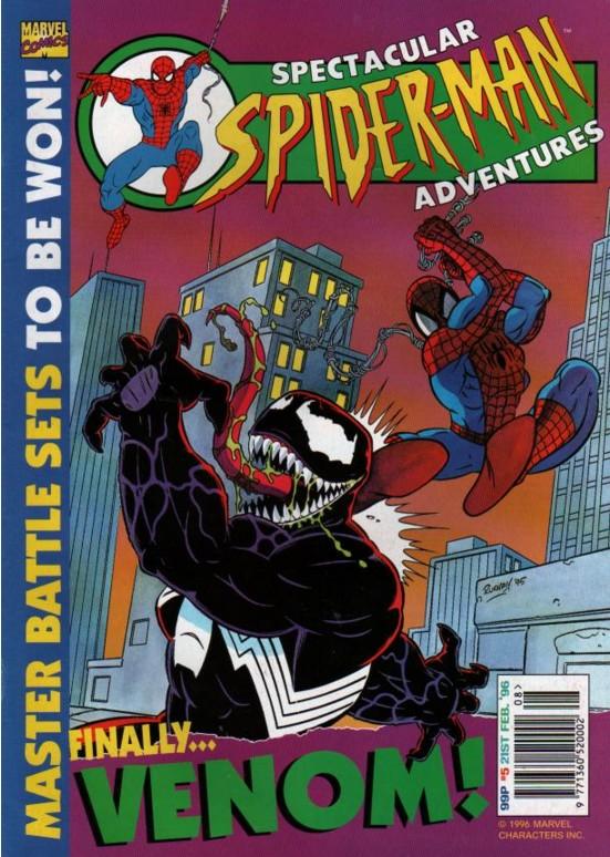 Spectacular Spider-Man (UK) Vol 1 5