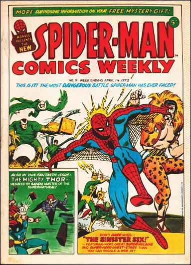 Spider-Man Comics Weekly Vol 1 9