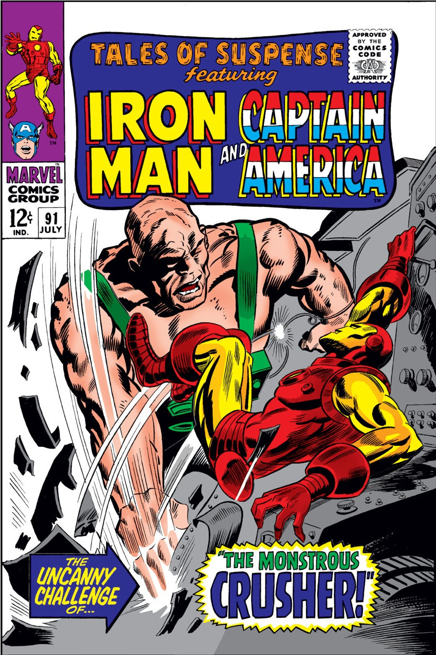 Tales of Suspense Vol 1 91