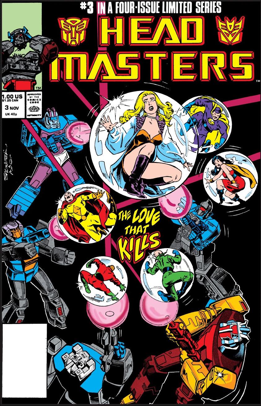 Transformers: Headmasters Vol 1 3