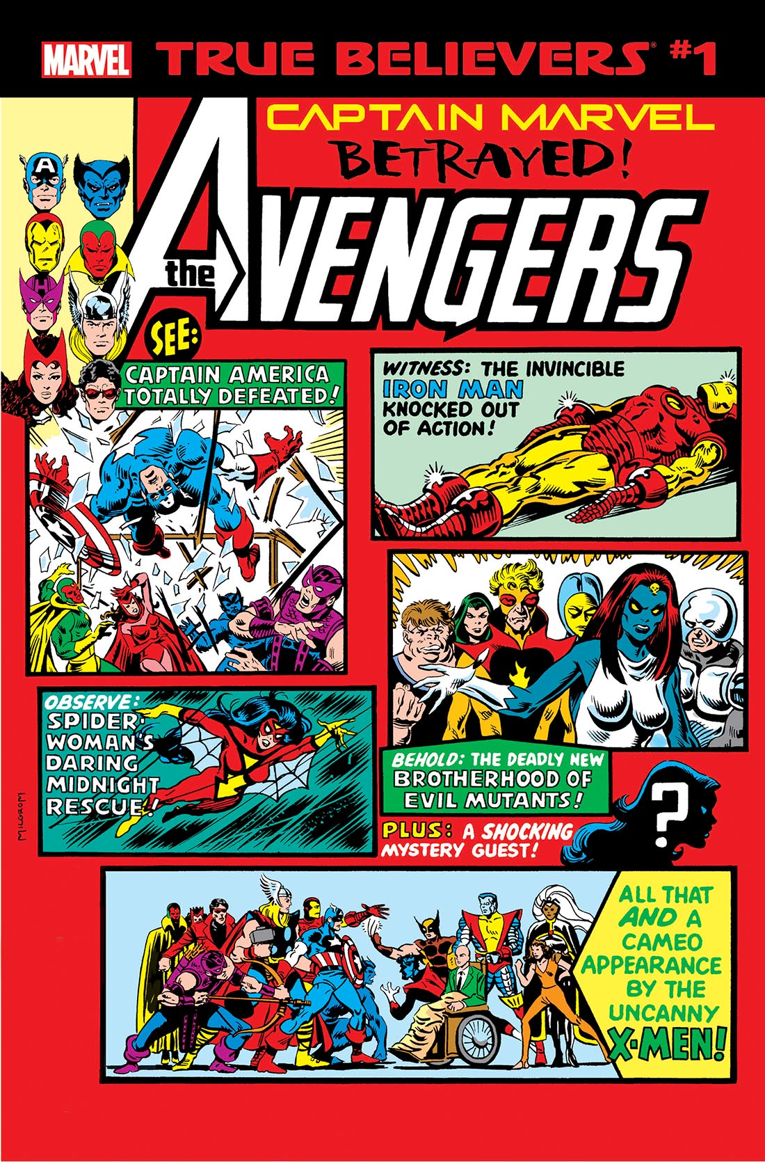True Believers: Captain Marvel - Betrayed! Vol 1 1