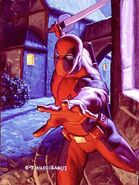 Wade Wilson (Earth-616) from Marvel Masterpieces (Trading Cards) 1994 001