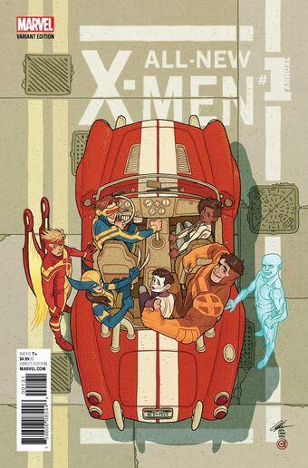 All New X Men Annual Vol 2 1 Marvel Database Fandom