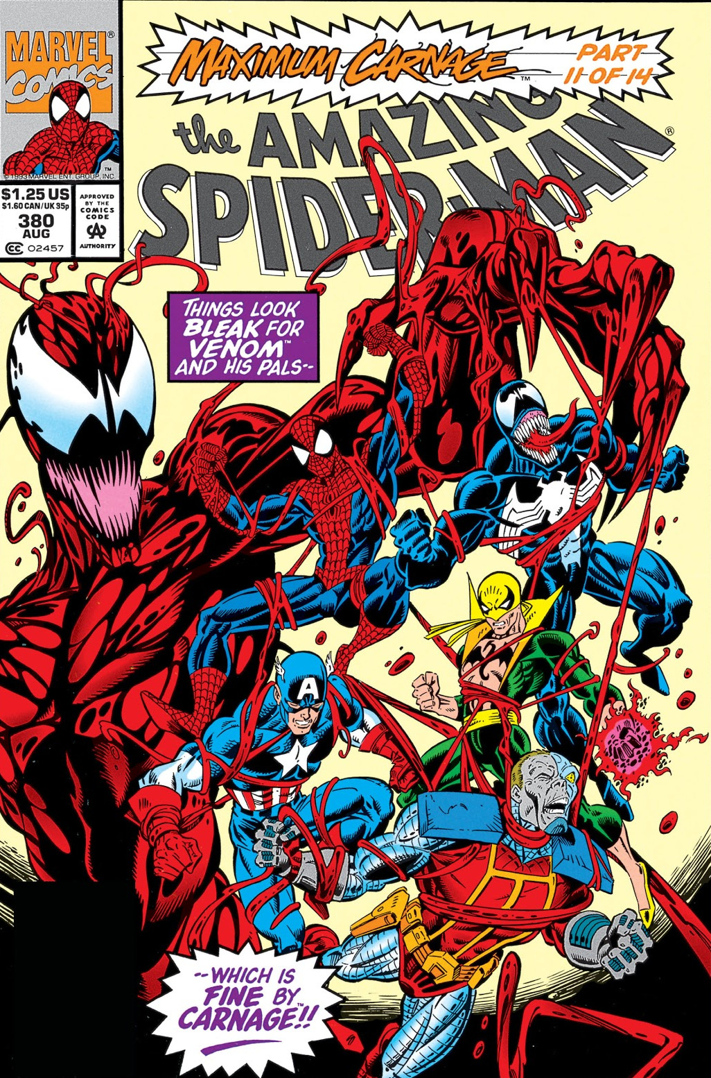 Amazing Spider-Man Vol 1 380