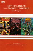 Avengers, Thor & Captain America Official Index to the Marvel Universe Vol 1 15