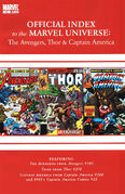 Avengers, Thor & Captain America Official Index to the Marvel Universe Vol 1 6