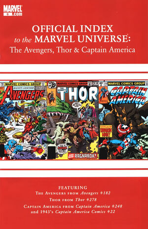 Avengers, Thor & Captain America Official Index to the Marvel Universe Vol 1 6.jpg