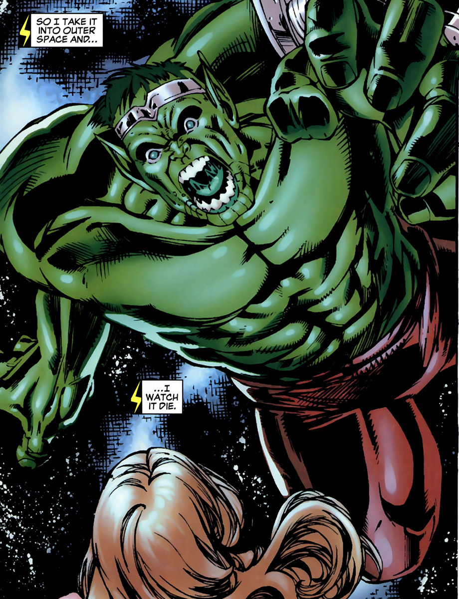 Bruce Banner (Skrull) (Earth-616)