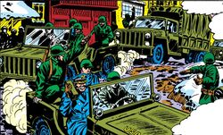 Canadian Army (Earth-616) from Amazing Spider-Man Vol 1 119.jpg