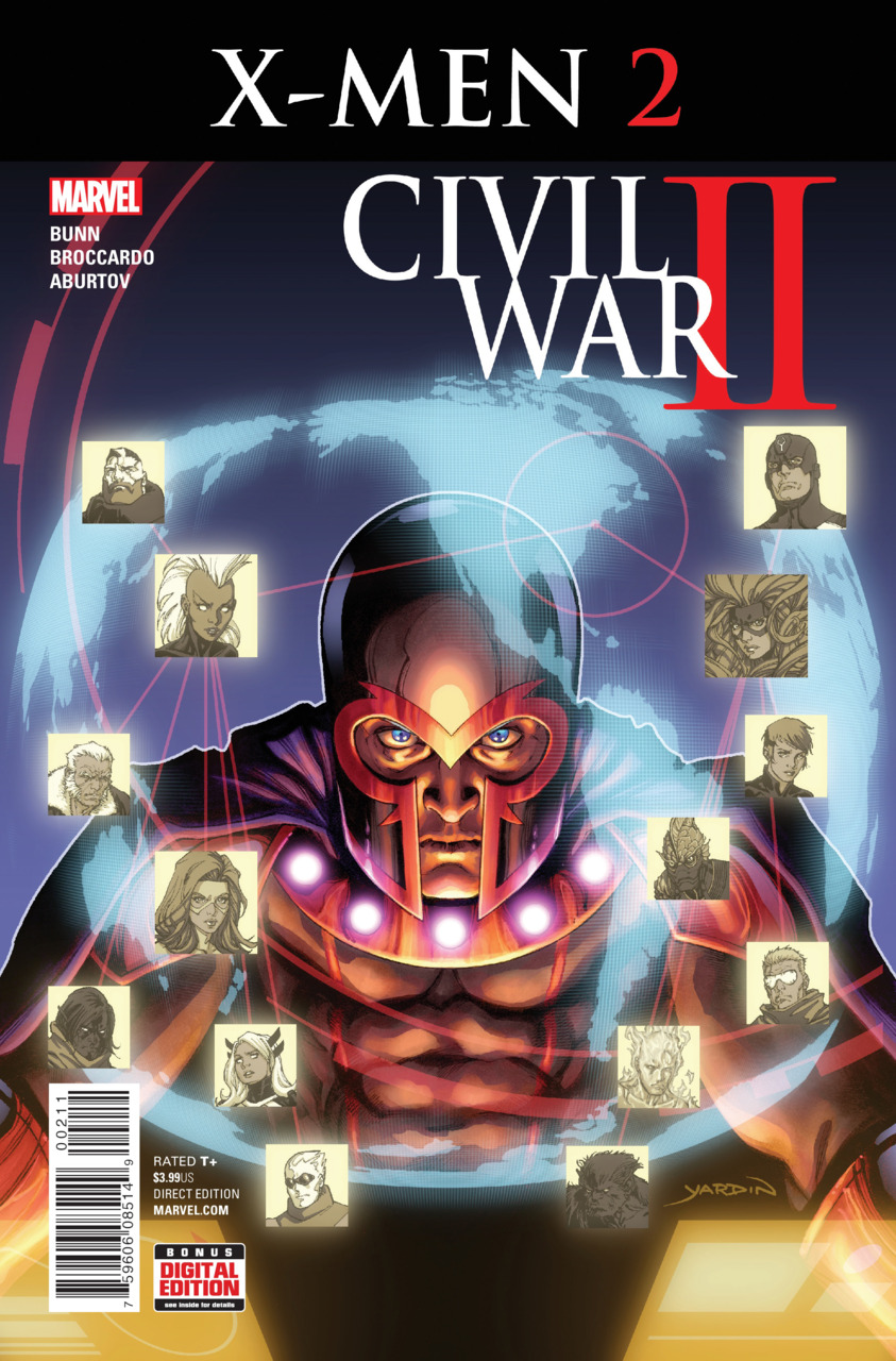 Civil War II: X-Men Vol 1 2