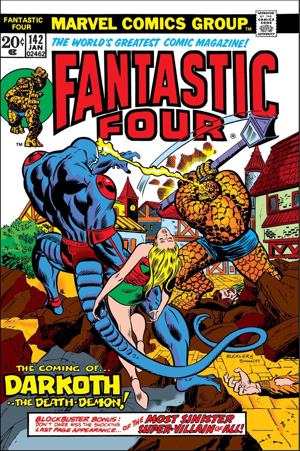 Fantastic Four Vol 1 142
