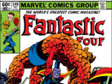 Fantastic Four Vol 1 249