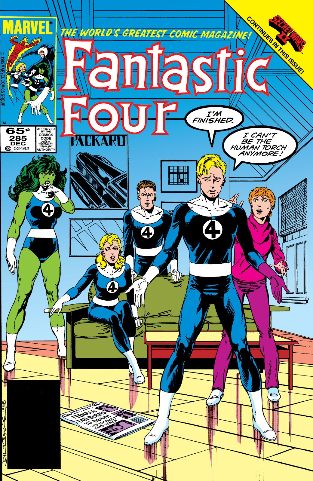 Fantastic Four Vol 1 285