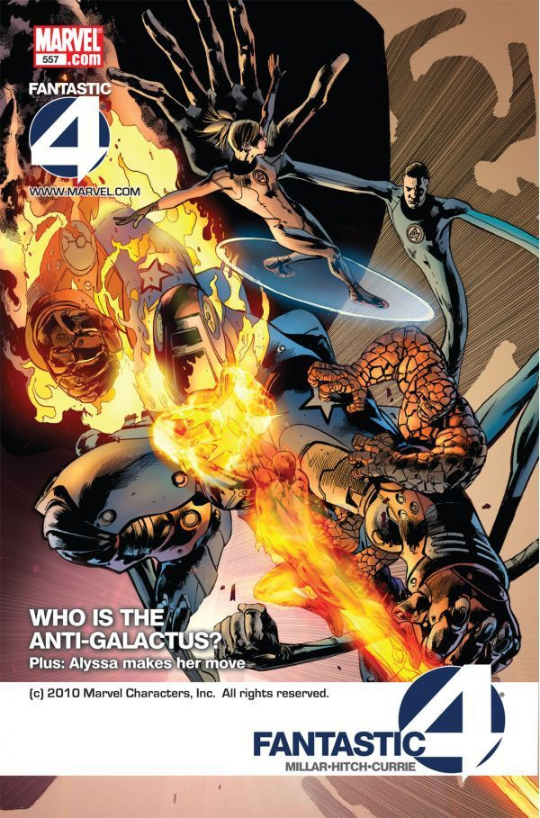 Fantastic Four Vol 1 557