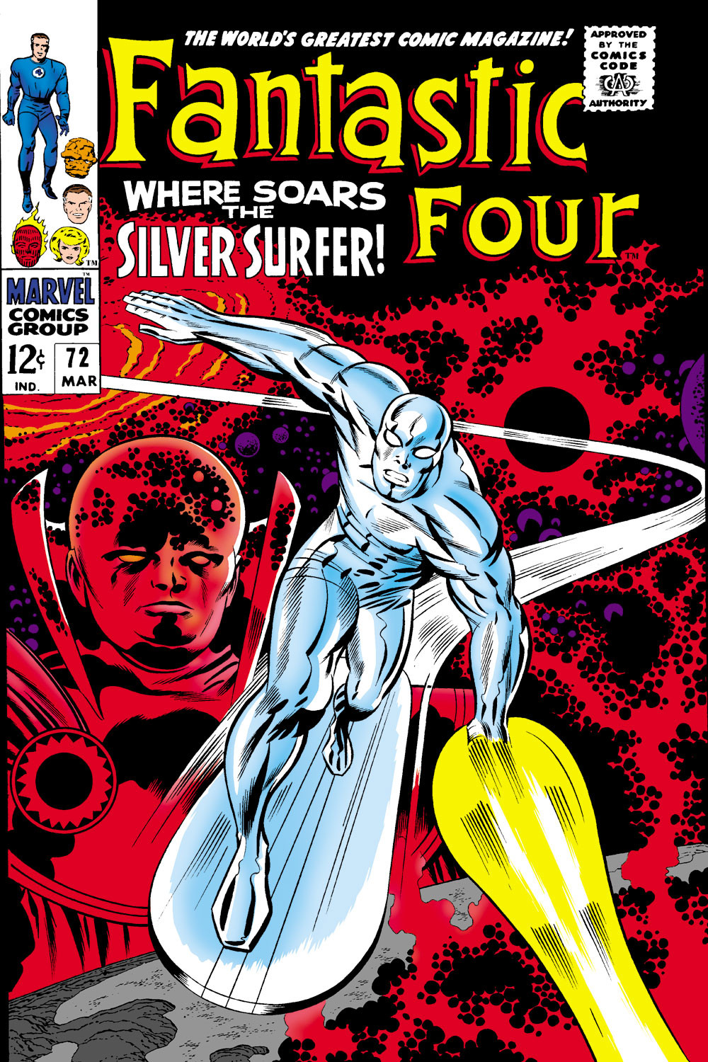 Fantastic Four Vol 1 72