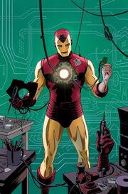 Hawkeye Vol 4 10 Many Armors of Iron Man Variant Textless.jpg