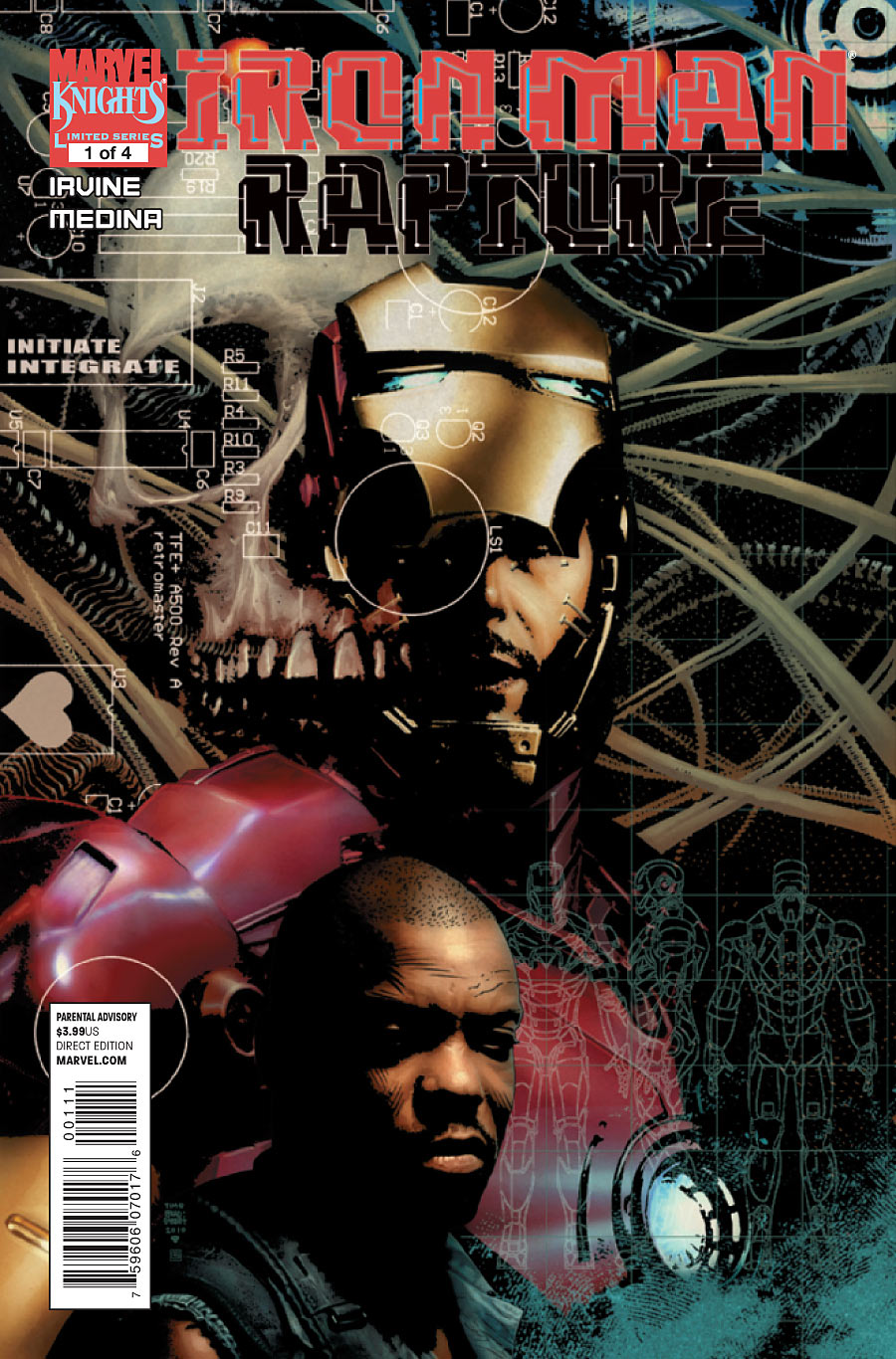 Iron Man: The Rapture Vol 1 1