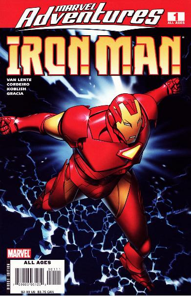 Marvel Adventures: Iron Man Vol 1