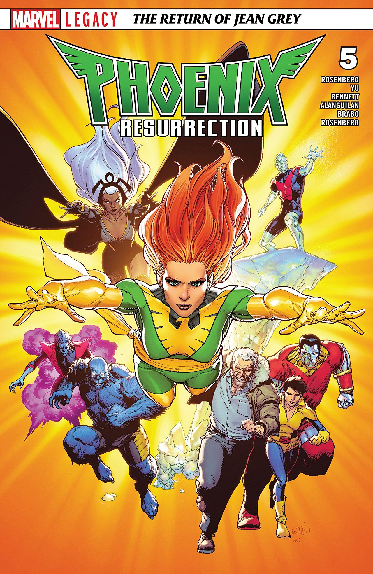 Phoenix Resurrection: The Return of Jean Grey Vol 1 5